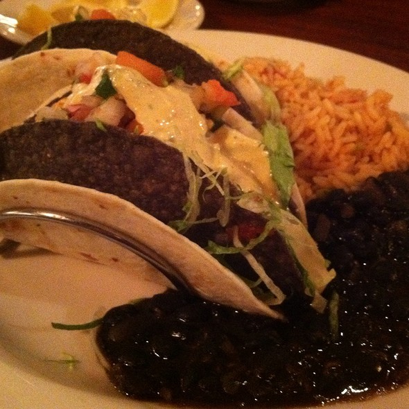 Cajun Fish Tacos - Rock Bottom Brewery Restaurant - La Jolla, San Diego, CA