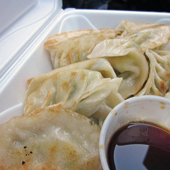 Steamed Vegetable Dumplings @ Tasty Hand'pulled Noodles Inc