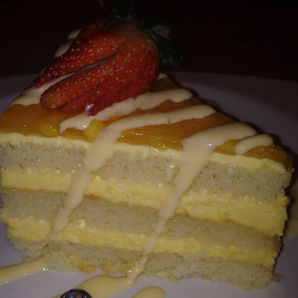 Tres Leches Cake With Mango - Cantina Laredo - Columbus, Columbus, OH