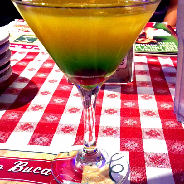 Mediterranean Orange Cocktail @ Buca di Beppo - Houston - Buffalo Speedway