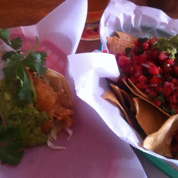 Fish Tacos Nick's Way @ The Taco Shop at Underdog's