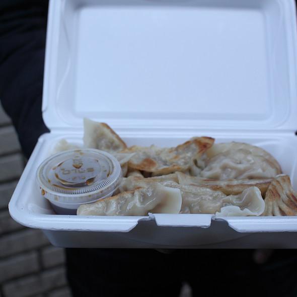 Fried Pork Dumplings @ Tasty Hand'pulled Noodles Inc