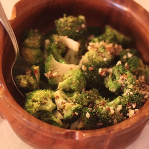Asian marinated broccoli @ Home