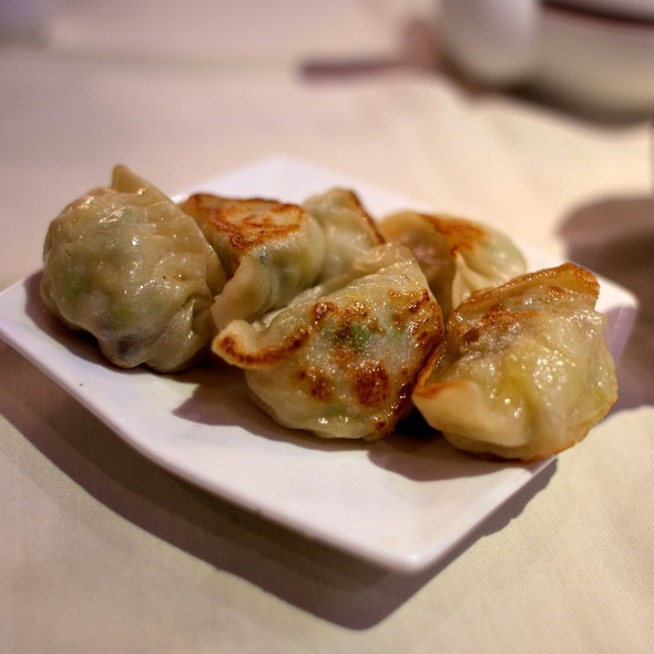 Pan Fried Dumplings @ Golden Unicorn Restaurant Inc