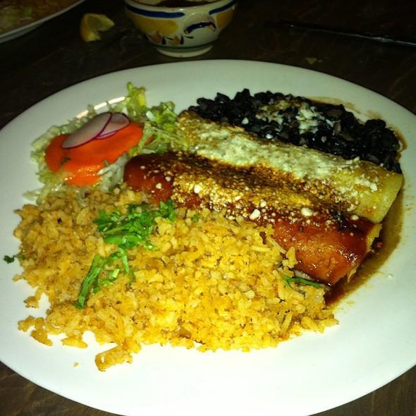 enchiladas - Maria's Cantina, Woodland, CA