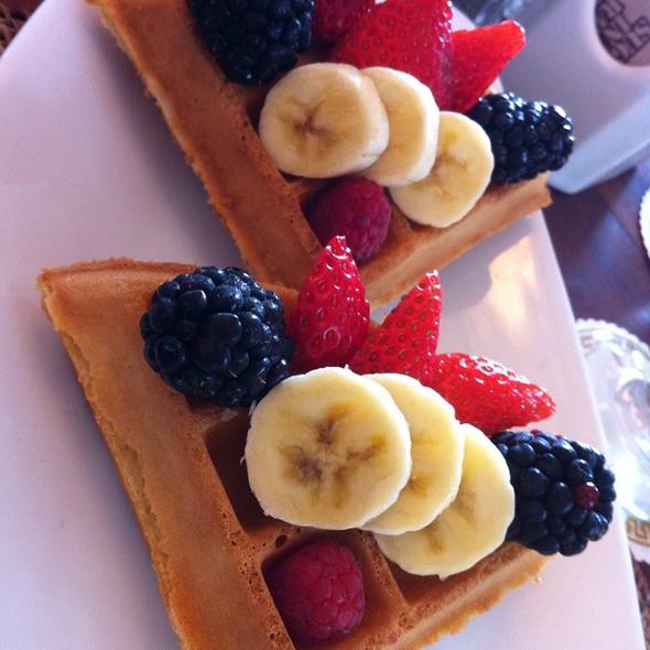 Waffles - Ocean House Restaurant, Honolulu, HI