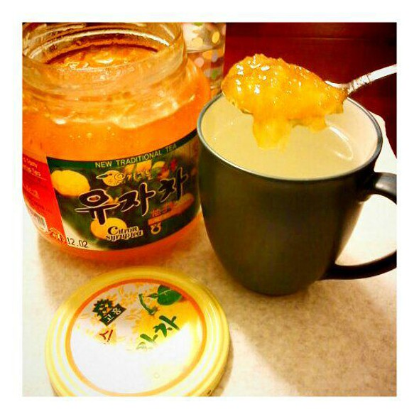Citron Jelly Tea @ H Mart