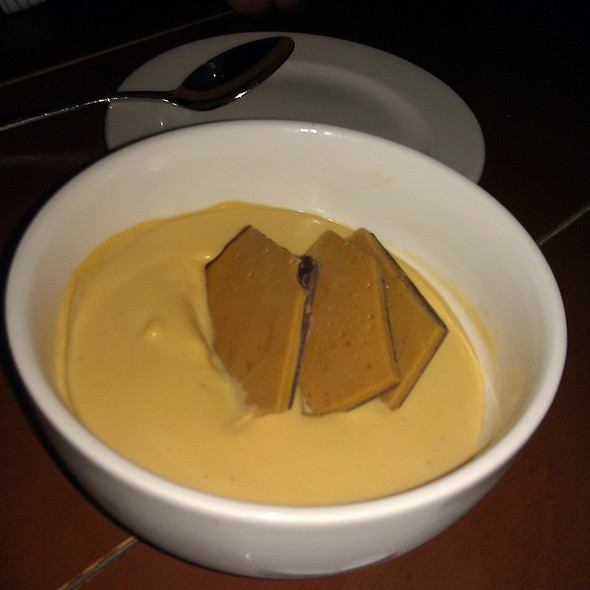 Butterscotch Pot de Creme @ Town Hall Restaurant