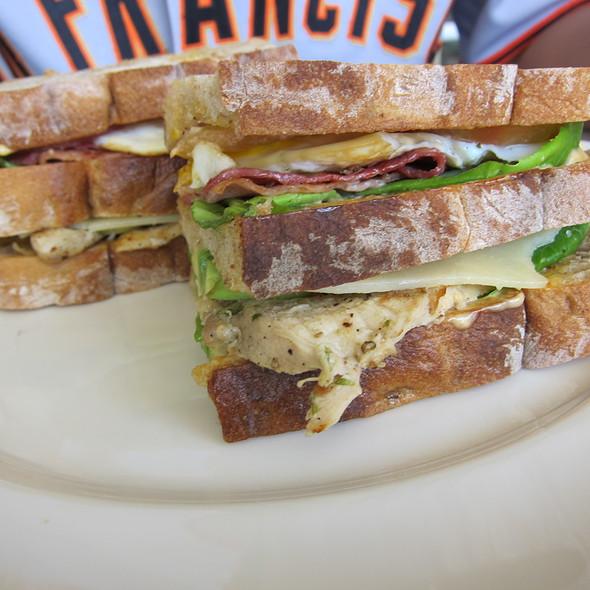 Club Sandwich @ Potato Head Bali