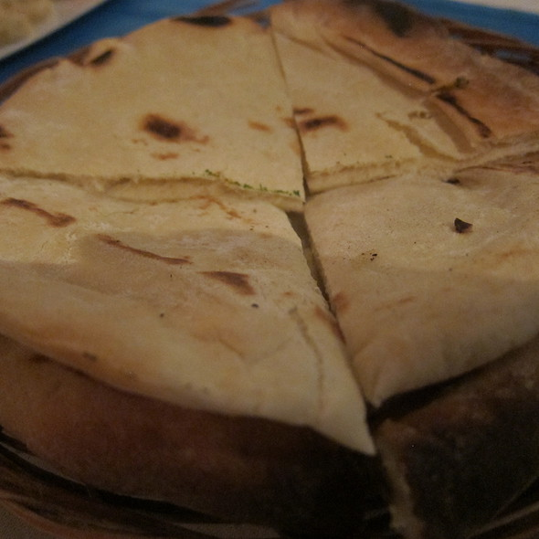 Pita Bread @ mykonos taverna, bali