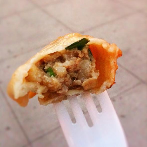 Fried Pork And Chive Dumplings @ Prosperity Dumpling