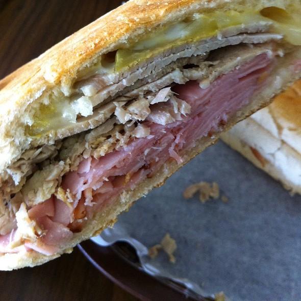 Cuban Sandwich @ Churros Cafe