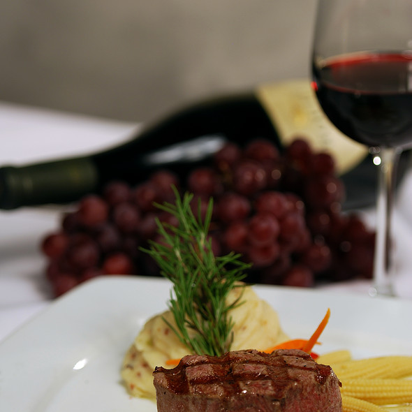 Certified Angus Filet  @ Salvatore's Italian Gardens Restaurant