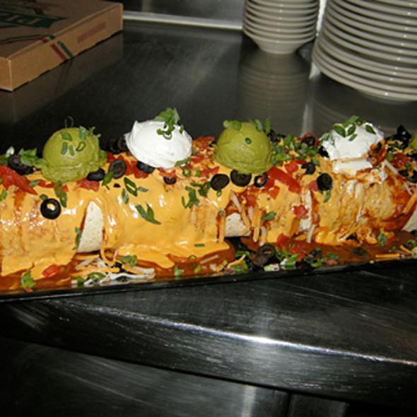 Big Badass Burrito @ NASCAR Cafe