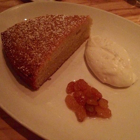 Olive Oil Cake @ L'Artusi Restaurant