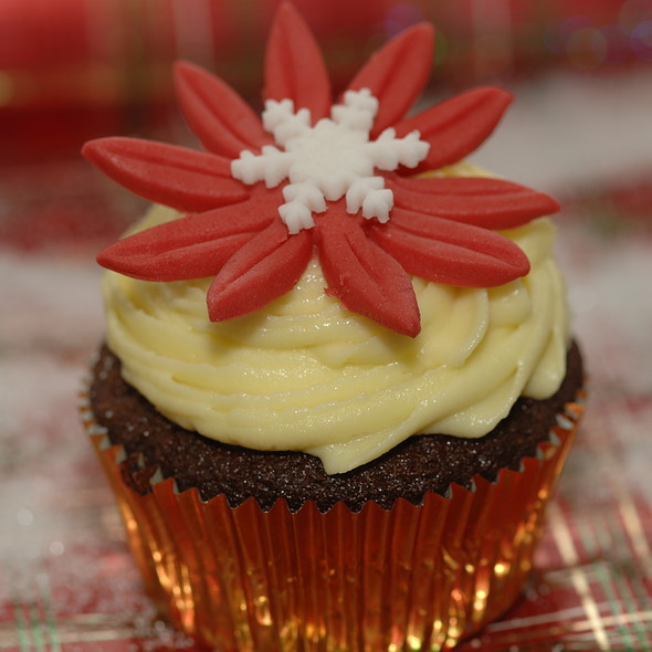 Ginger bread Cupcake @ The Purple Pastry Chef