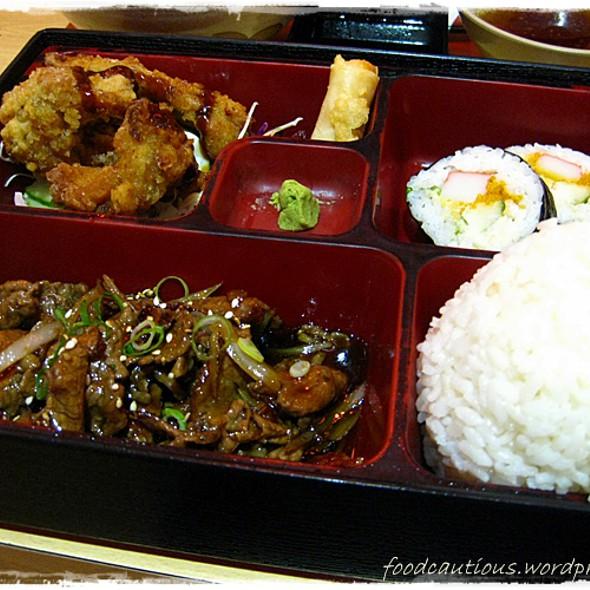Sukiyaki Beef Bento Set @ Kaneda Japanese Restaurant
