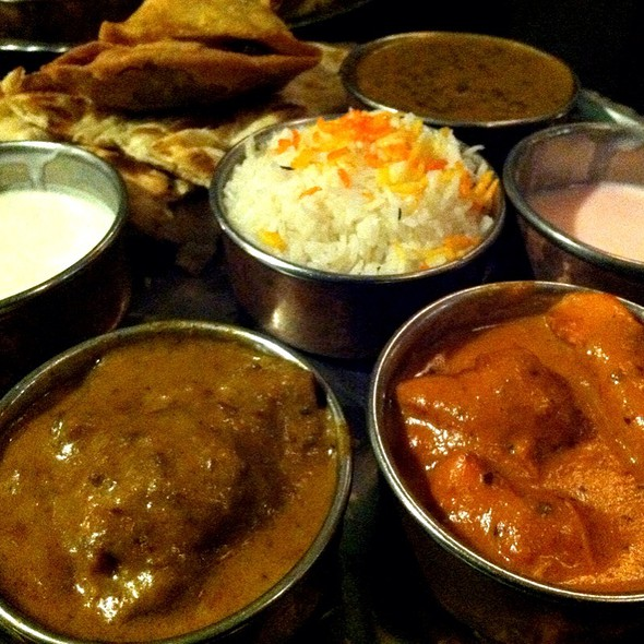 Nawabi Thali - Rasoi Indian Kitchen, Washington, DC