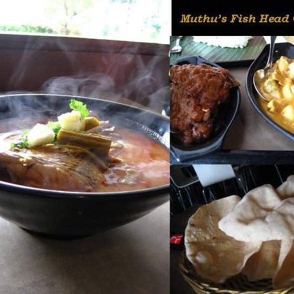 Fish Head Curry @ Muthu's Curry Restaurant Pte Ltd