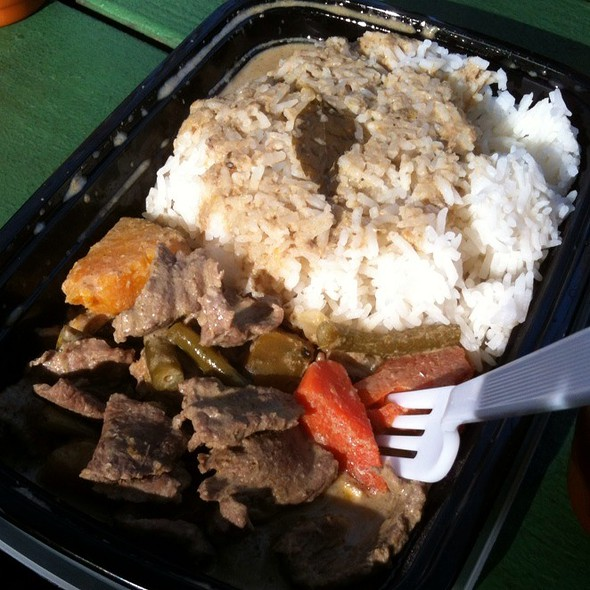 Green Curry Beef