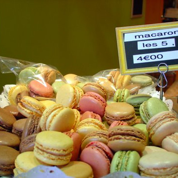 Mini Macarons @ Daniel Blavette