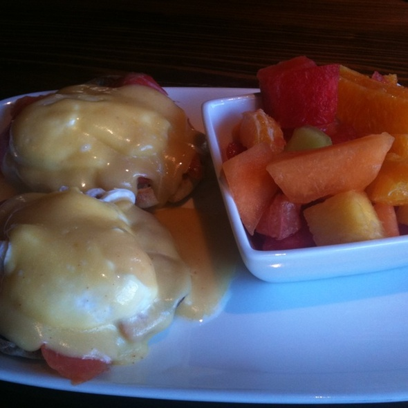 Eggs Benedict @ First Food & Bar