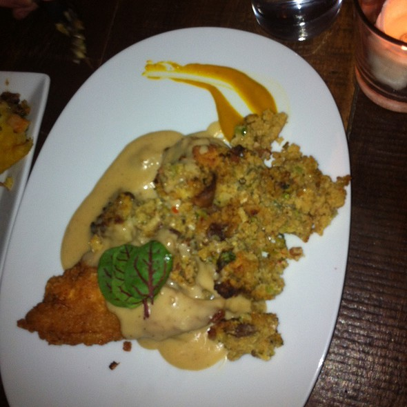 fried chicken @ Harvest Restaurant