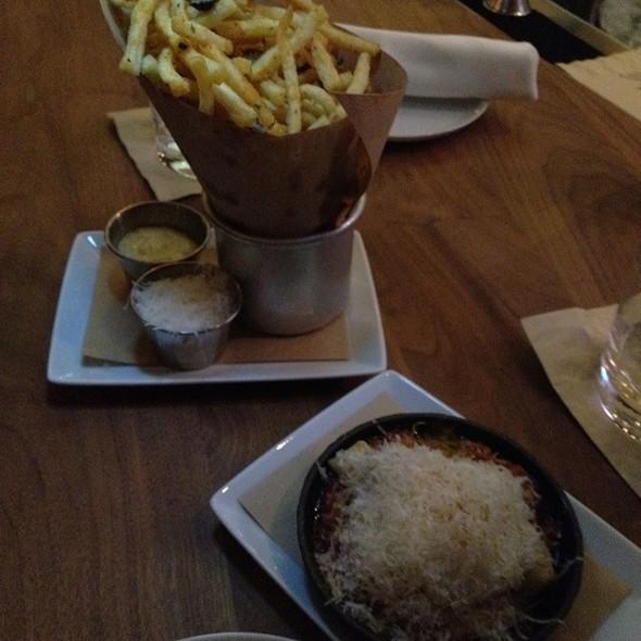 Truffle Oil French Fries - BLT Steak at Camelback Inn, A JW Marriott Resort, Scottsdale, AZ