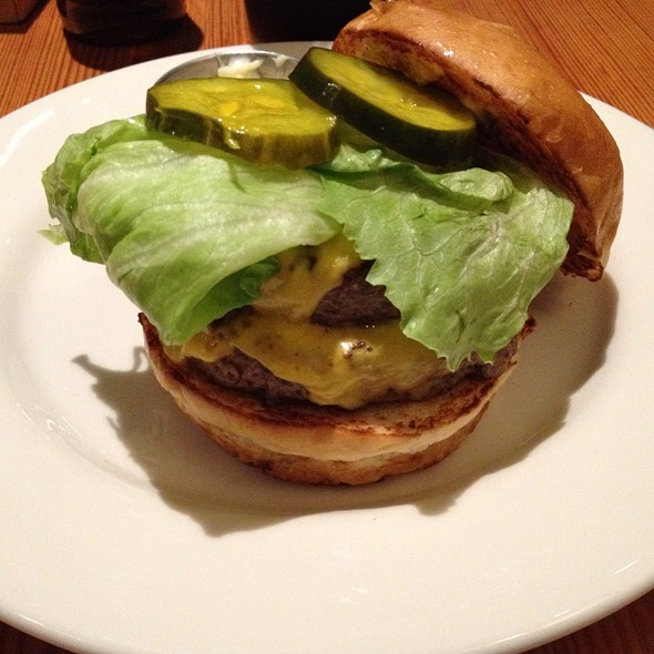Double Cheeseburger @ West Egg Cafe