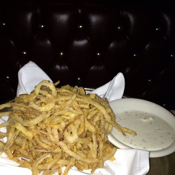 Onion Strings @ Alfred's Steak House