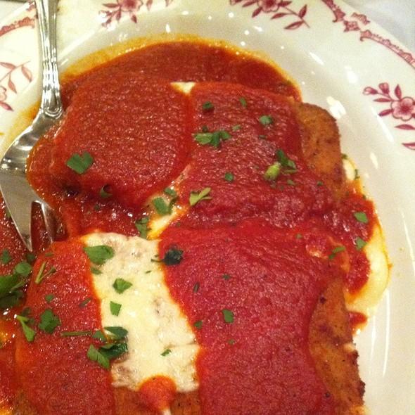 Mozzarella Marinara @ Maggiano's Little Italy