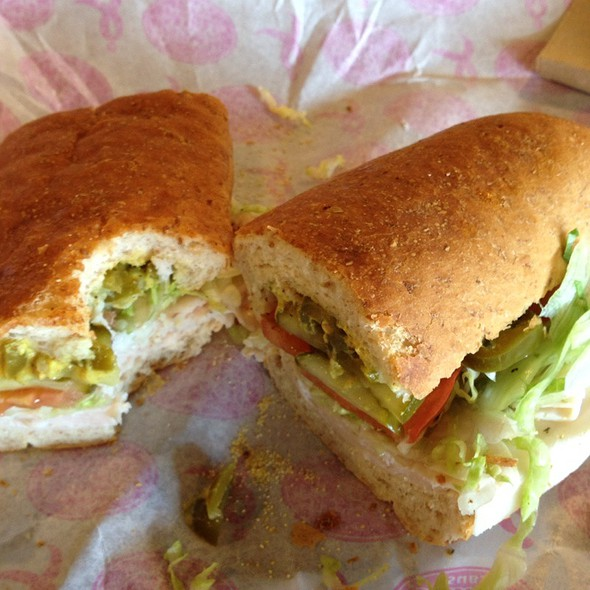 Turkey Breast And Provolone Sub @ Jersey Mike's Subs