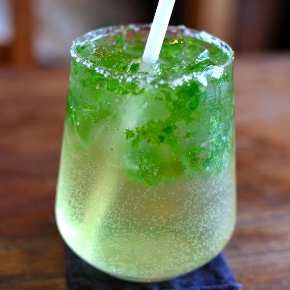 Fresh Mint Juice @ cafe ももちどり