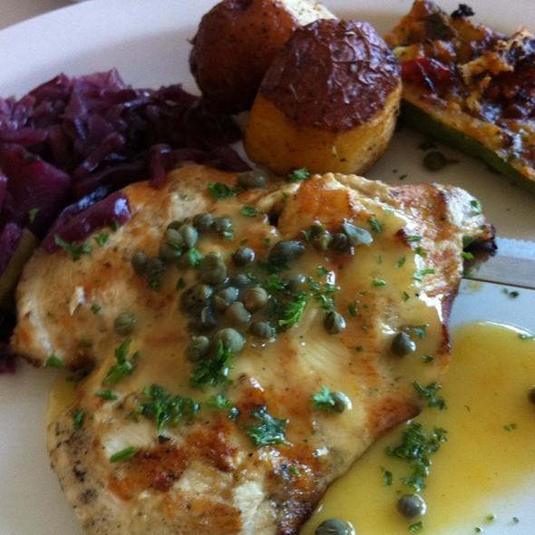 Chicken Potatoes And Zucchini - Brave New Restaurant, Little Rock, AR