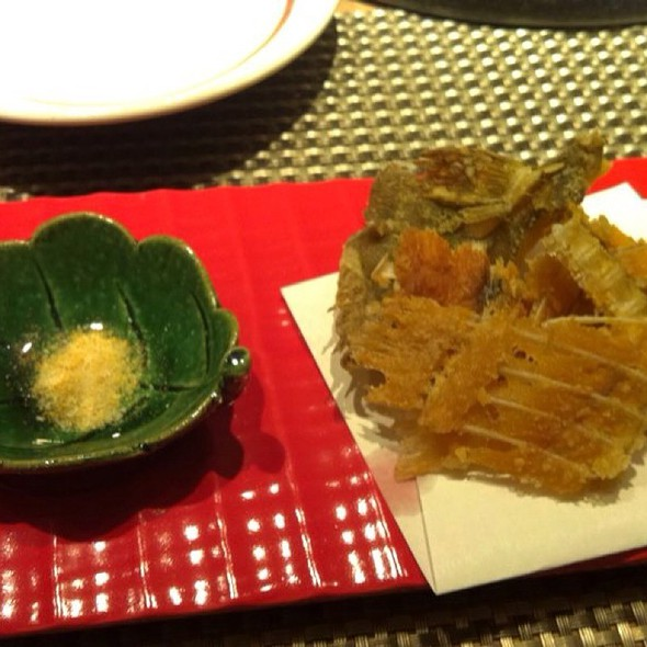 Deep Fried Fish Thins, Complimentary Starter