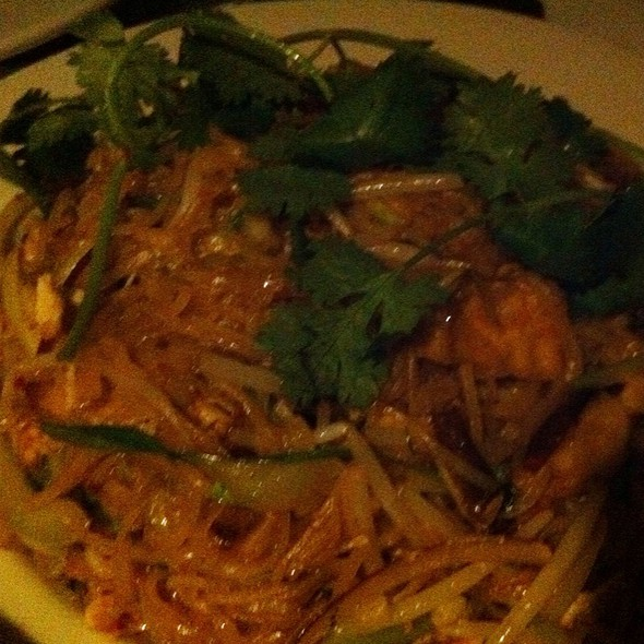 Pad Thai Noodles With Tofu @ Wild Ginger Asian Restaurant