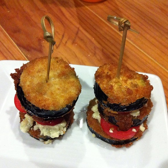 Fried Eggplant Skewers @ Carnitas' Snack Shack