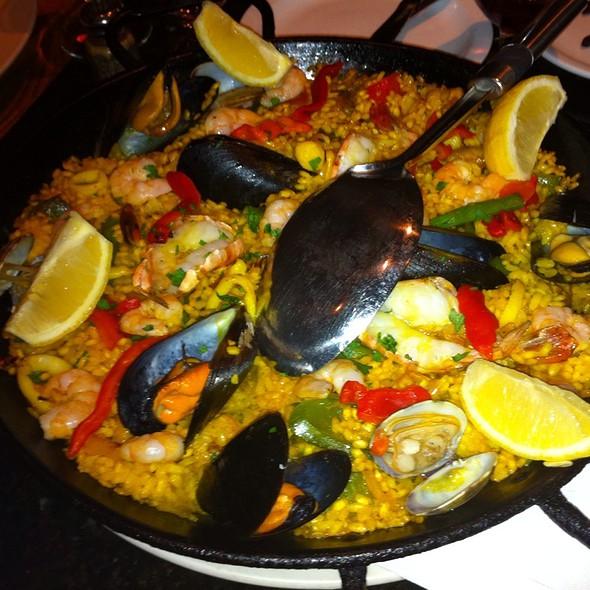 Superb Paella Marinera At Patio Espanol Restaurant