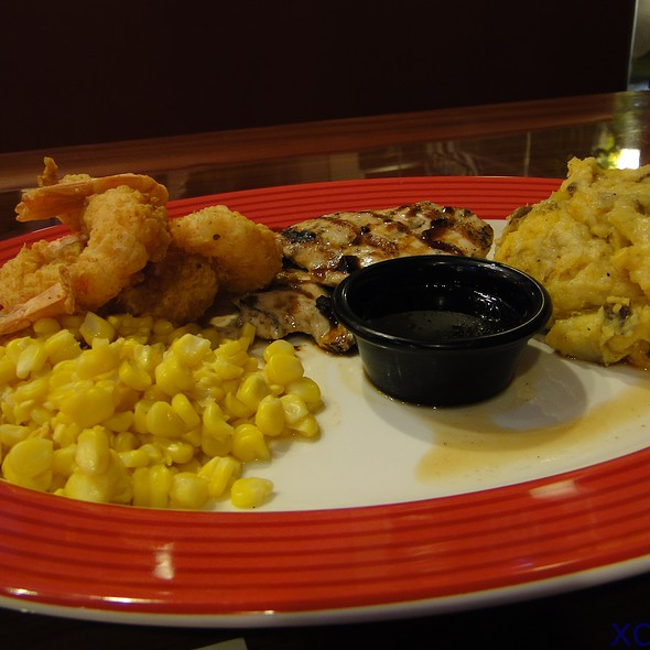 Jack Daniel's Chicken And Shrimp @ TGI Friday's