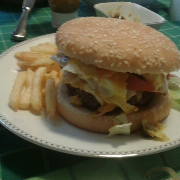 Giant Hamburger