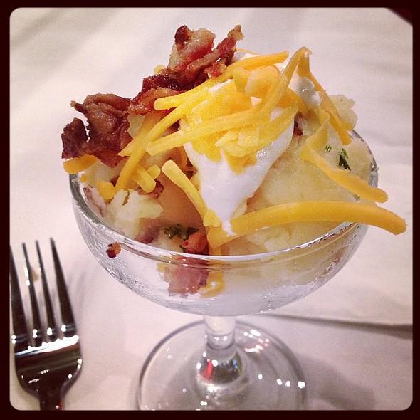 "from the mashed potato ""martini"" bar. @ Fairfax Marriott at Fair Oaks"