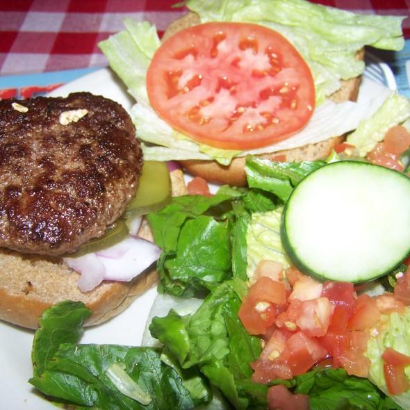 """Heart Healthy"" Burger @ Huey's"