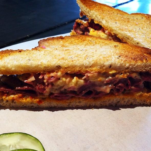 Hot Pastrami Sandwich @ Hay Market Willow Glen
