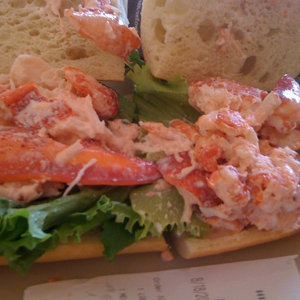 Lobster Salad on Ciabatta @ Panera Bread