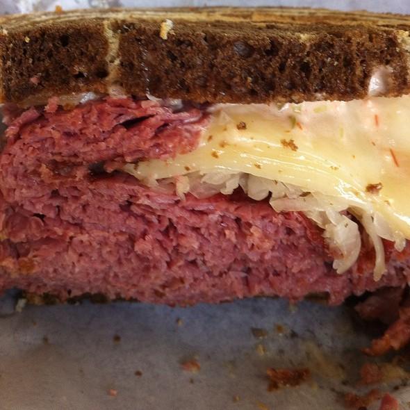 Reuben Sandwich @ Stein's Market & Deli