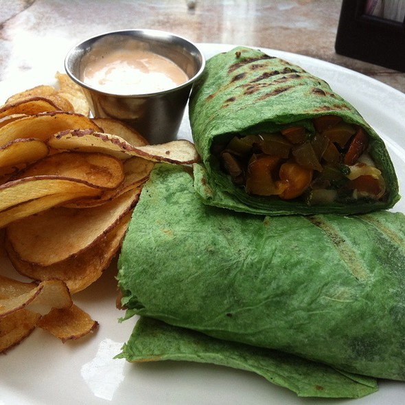 Veggie Wrap @ Altin Cafe & Grill