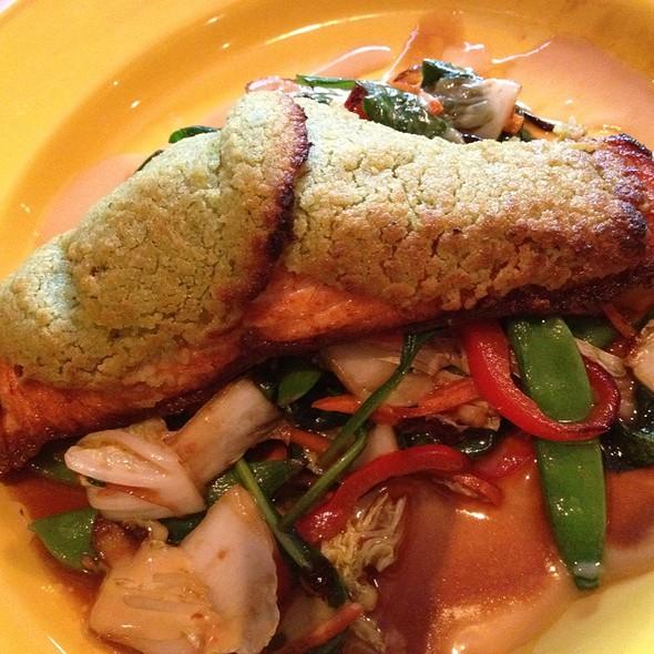Wasabi Encrusted Salmon