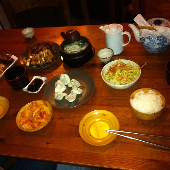 Reistafel (5 Gänge) @ Korea Haus