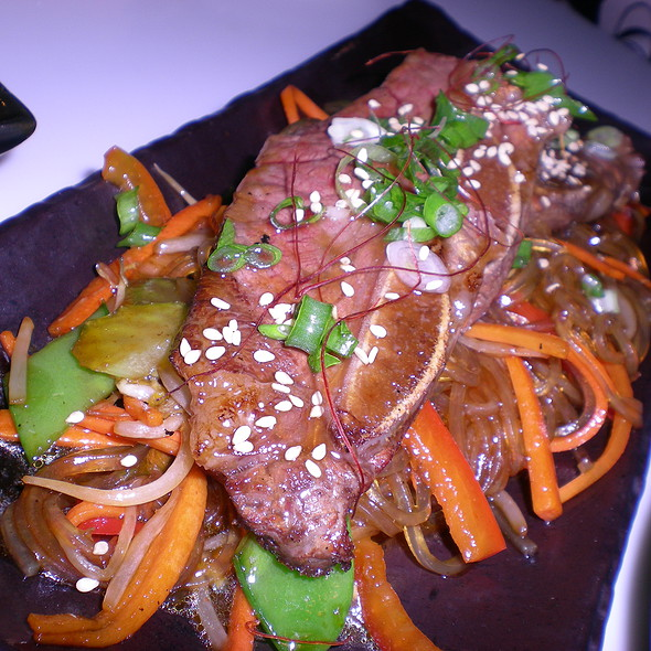 Glass noodles with short rib and vegetables @ Slurping Turtle