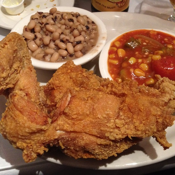 fried chicken @ Sylvia's Restaurant of Harlem